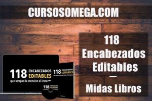 118 Encabezados Editables