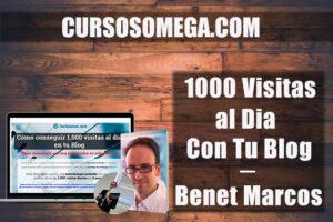 1000 visitas al día en tu blog